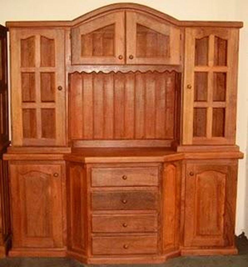 Modulares carpinteria restauracion Mueble de algarrobo modular