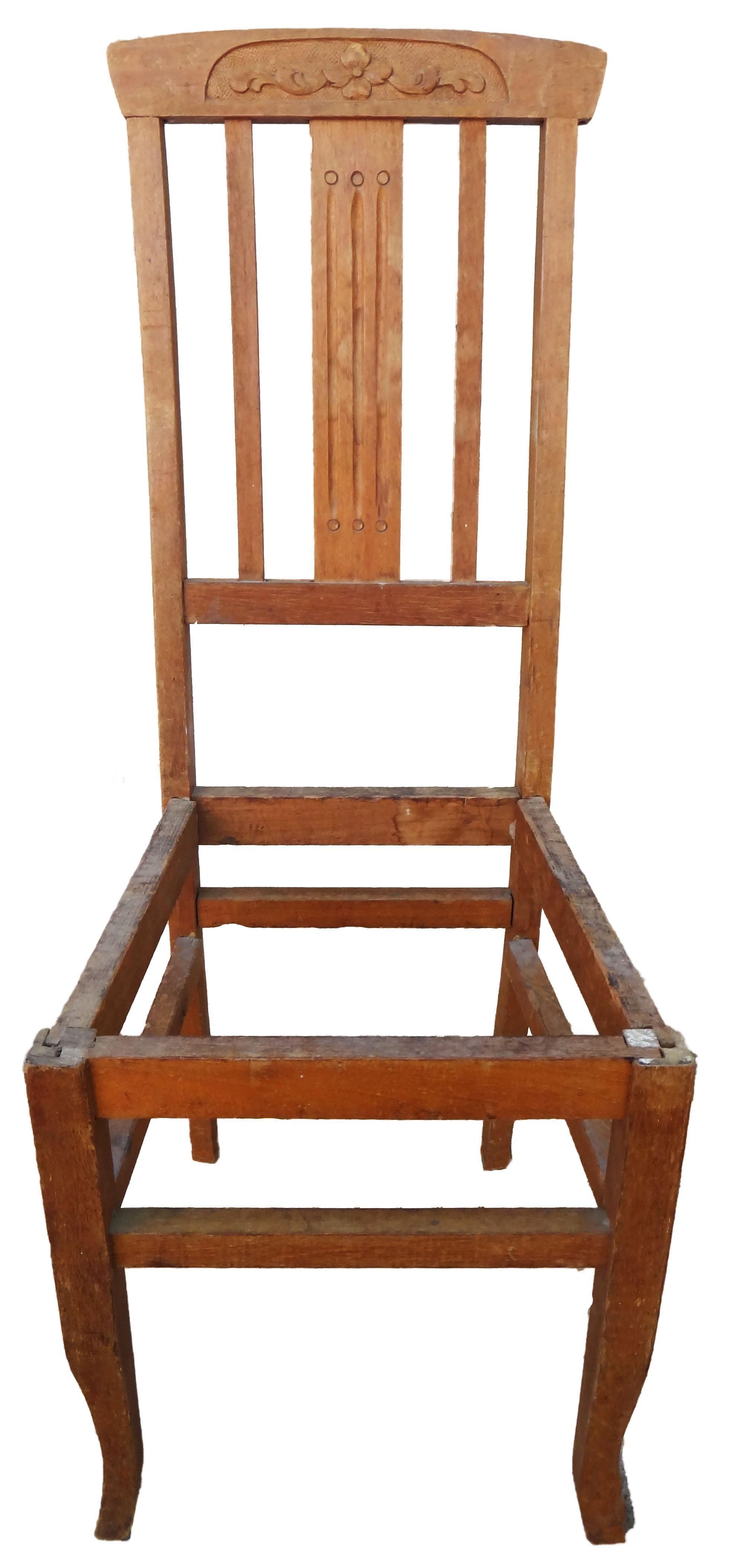 Sillas antiguas y modernas inicio for Modelos de sillas de madera modernas
