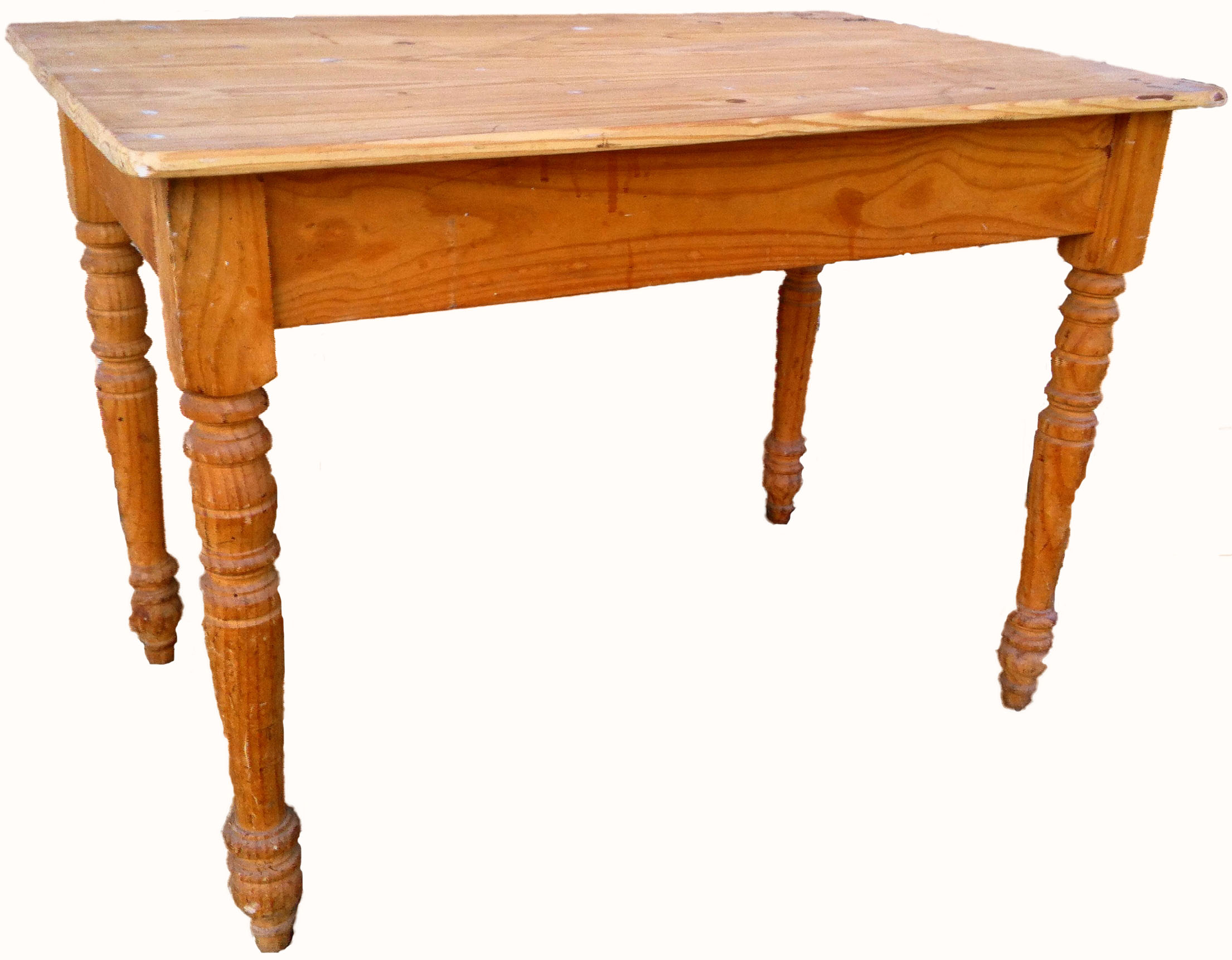Linea comedor carpinteria restauracion for Mesa madera antigua