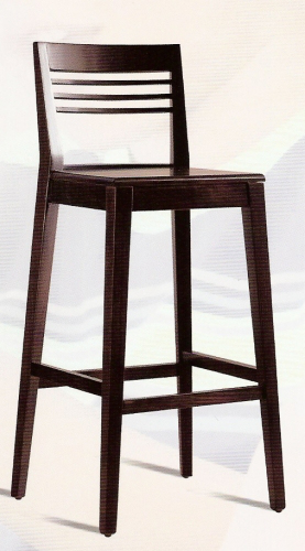 Sillas de bar y taburetes carpinteria restauracion - Taburete madera bar ...